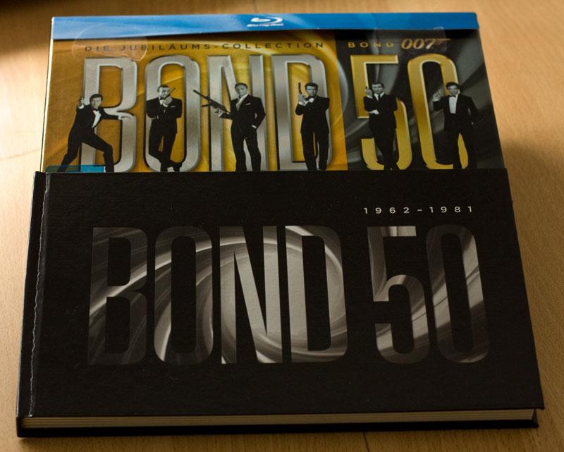 Die James Bond 007 Jubiläums-Collection (Blu Ray) – Teil 1: 1962 – 1981