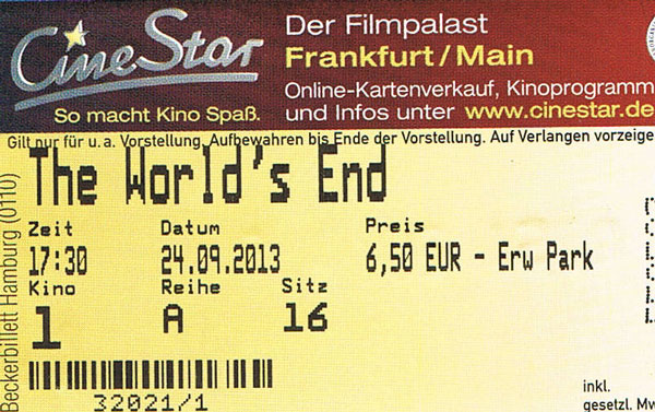 The World's End (Kino)