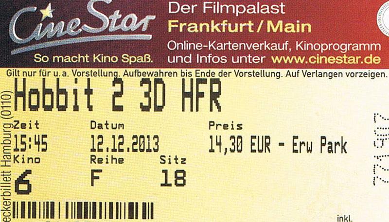 Der Hobbit – Smaugs Einöde (Kino)