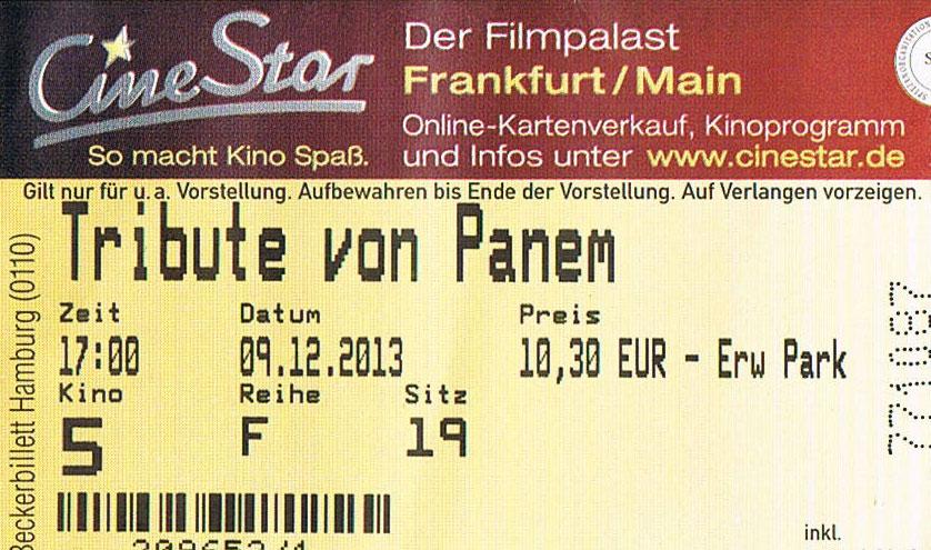 Die Tribute von Panem – Catching Fire (Kino)
