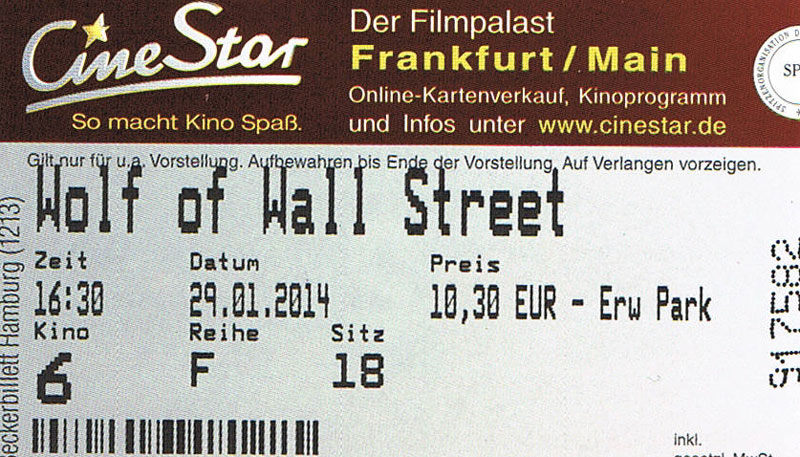 The Wolf of Wall Street (Kino)