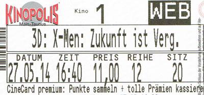 X-Men: Zukunft ist Vergangenheit (Kino)
