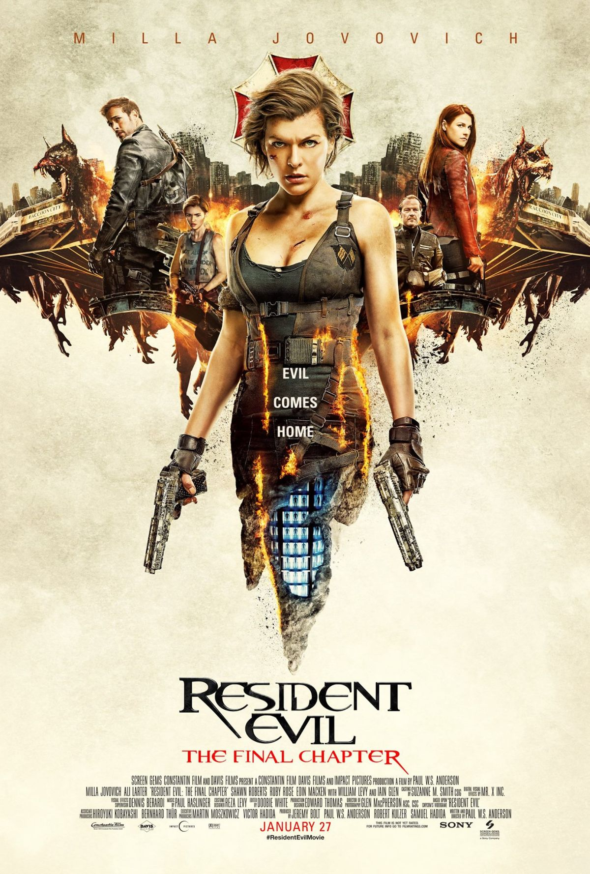 Resident Evil – The Final Chapter (Kino)