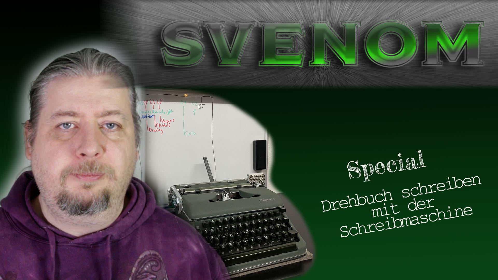 Drehbuch schreiben mit der Schreibmaschine